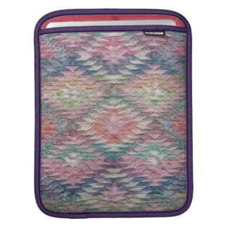 Southwest Desert Diamonds Woven Look - Vertical iPad Sleeve
