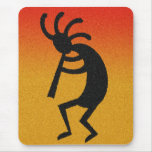 Southwest Desert Sunset Kokopelli Mouse Pad
