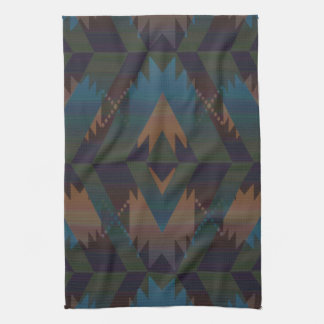 Southwest Design Aztec Print Tea Towel