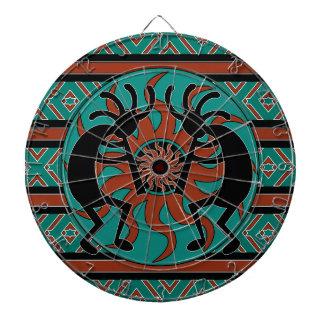 Southwest Design Dancing Kokopelli Dartboard