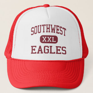 Southwest - Eagles - Middle - Savannah Georgia Trucker Hat