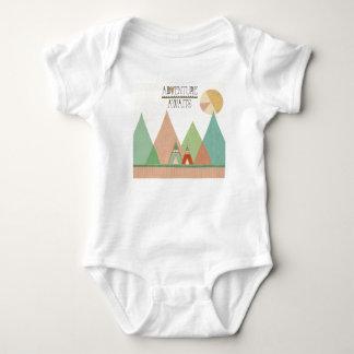 Southwest Geo III | Adventure Awaits Baby Bodysuit