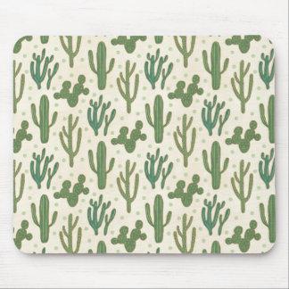 Southwest Geo Step | Desert Cactus Pattern Mouse Mat