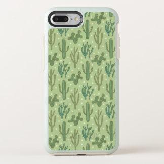 Southwest Geo Step | Green Cactus Pattern OtterBox Symmetry iPhone 8 Plus/7 Plus Case