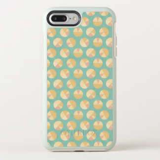 Southwest Geo Step | Orange & Green Circle Pattern OtterBox Symmetry iPhone 8 Plus/7 Plus Case