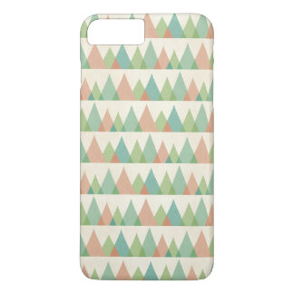 Southwest Geo Step | Teal & Coral Triangles iPhone 8 Plus/7 Plus Case