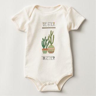 Southwest Geo VIII | We Stick Together Baby Bodysuit