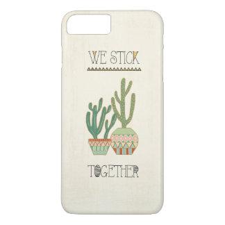 Southwest Geo VIII | We Stick Together iPhone 8 Plus/7 Plus Case