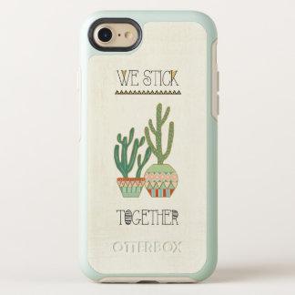 Southwest Geo VIII   We Stick Together OtterBox Symmetry iPhone 8/7 Case