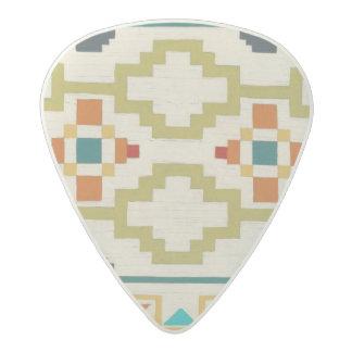 Southwest Geometry I Acetal Guitar Pick