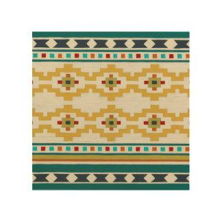 Southwest Geometry III Wood Prints