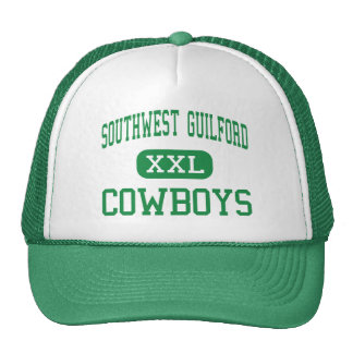 Southwest Guilford - Cowboys - High - High Point Trucker Hats