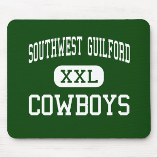 Southwest Guilford - Cowboys - High - High Point Mouse Pad