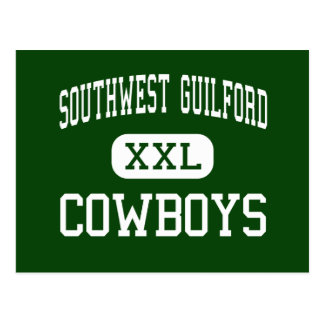 Southwest Guilford - Cowboys - High - High Point Post Cards