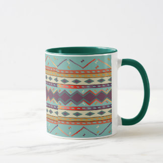 Southwest Indian Blanket Design Mug