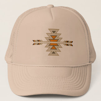 Southwest Indian Design-Brown Trucker Hat