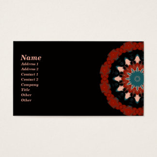 Southwest Kaleidoscope Business Card