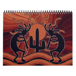 Southwest Kokopelli Calendar