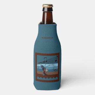 Southwest Kokopelli Music Bottle Cooler