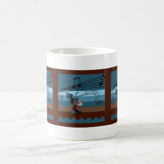 Southwest Kokopelli Music Mug