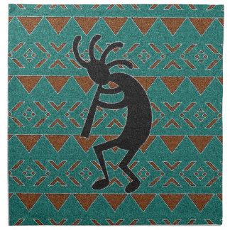 Southwest Kokopelli Tribal Design Napkin