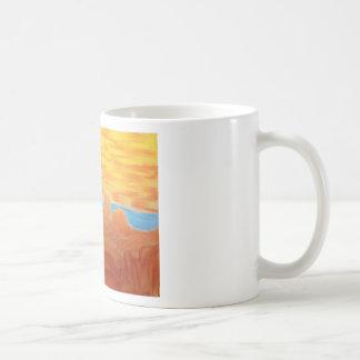 Southwest Landscape Chalk Drawing Mugs