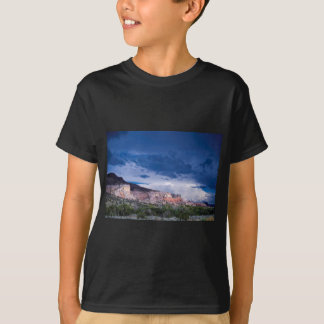 Southwest Landscape Mountains Blue Sky Tee Shirts