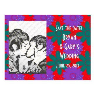 Southwest Megafiori WEDDING Save The Date Post Card