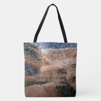 Southwest Native American Earth Quote Tote