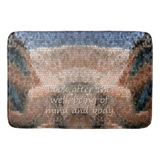 Southwest Native American Well Being Bath Mat