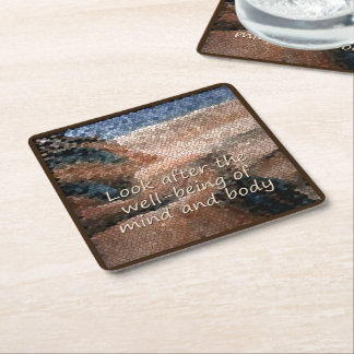 Southwest Native American Well Being Coasters