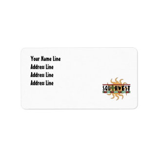 Southwest - Return Address Address Label