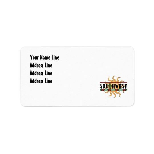 Southwest - Return Address Address Label