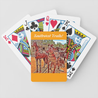 Southwest Rustic Cowboy Playing Cards