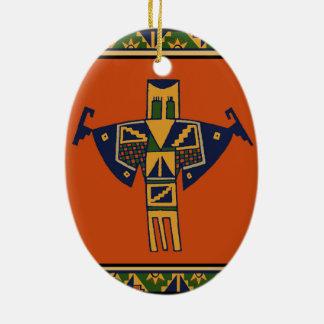 Southwest Shaman Spirit Christmas Ornament