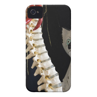 Southwest Spine Skeleton Chili Pepper Cat Case-Mate iPhone 4 Case