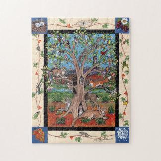 Southwest Tree of Life Animal Four Seasons Puzzle