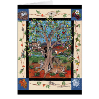 """Southwest Tree of Life"", Four Seasons, Art Notes"
