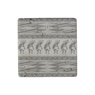 Southwest Tribal Kokopelli Stone Magnet