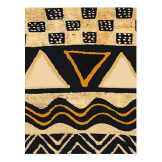 Southwest Tribal Native American Design Postcard