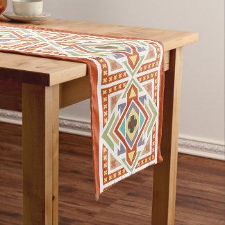 Southwest Tribal Native Geometric Pattern Medium Table Runner