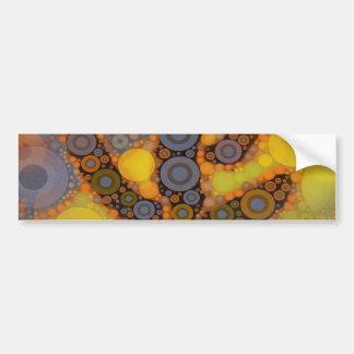 Southwestern Arizona Saguaro Cactus Mosaic Design Bumper Sticker