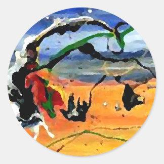 Southwestern Art - CricketDiane Art & Design Round Sticker
