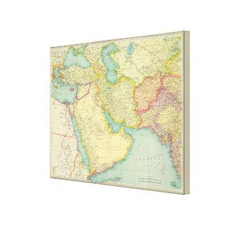Southwestern Asia Canvas Print