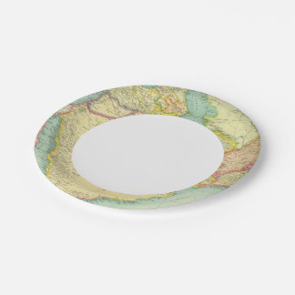 Southwestern Asia Paper Plate