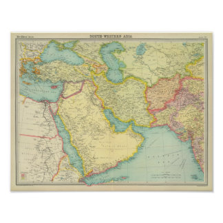 Southwestern Asia Poster