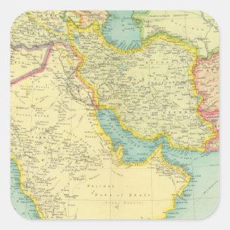 Southwestern Asia Square Sticker