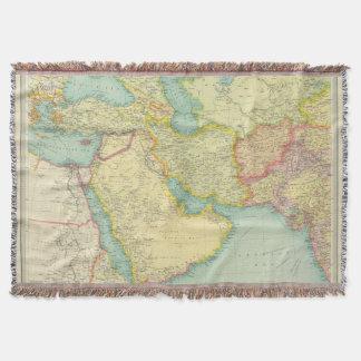 Southwestern Asia Throw Blanket