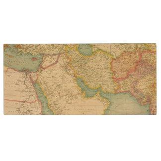 Southwestern Asia Wood USB Flash Drive