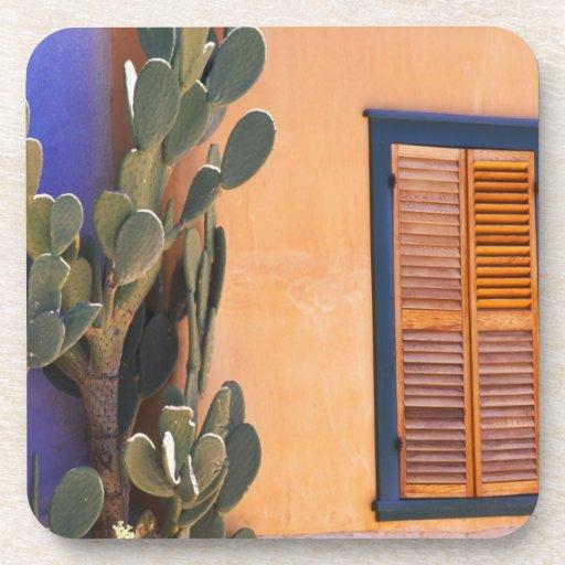 Southwestern Cactus (Opuntia dejecta) and Drink Coaster